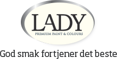 LADY - Premium paint & colors, God smak fortjener det beste